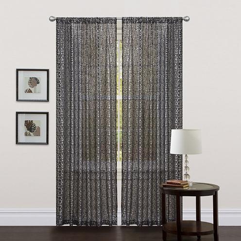 Leopard Curtain Panel