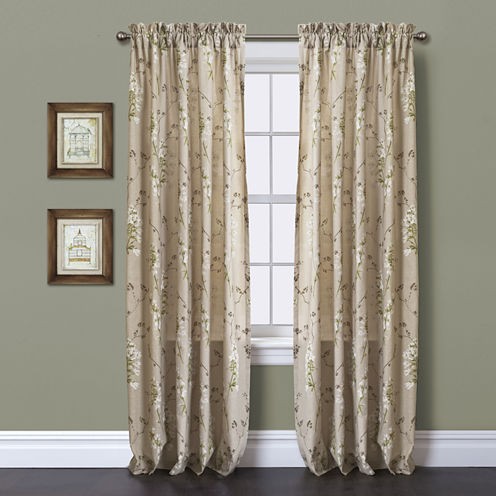Roslyn Curtain Panel