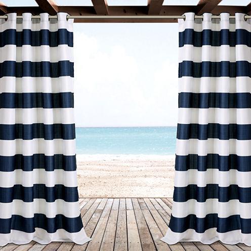 Stripe Curtain Panel