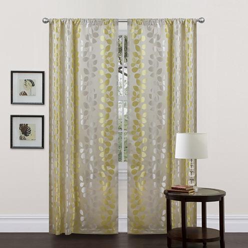 Teardrops 2-Pack Curtain Panel