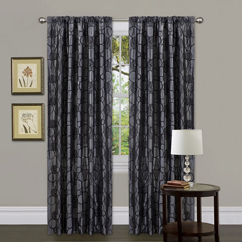 Circle Charm Curtain Panel