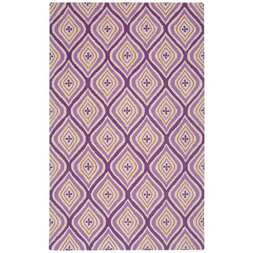 Rizzy Home Craft Collection Hand-Tufted Angela Abstract Area Rug