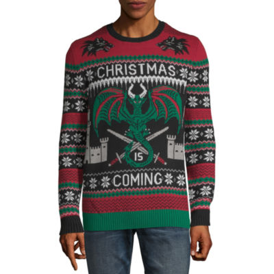 Mens Ugly Christmas Sweater Color Black Jcpenney