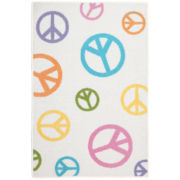 Tween Pearl Peace Field Rectangular Rug
