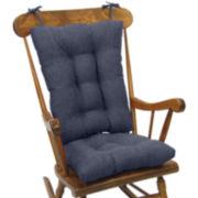 Tyson Gripper® 2-Piece Jumbo Chair Cushion Set