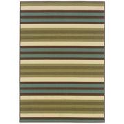 Oriental Weavers™ Montego Stripe Indoor/Outdoor Round Rug