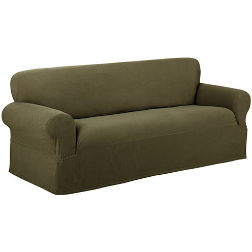 Maytex Smart Cover® Reeves Stretch 1-pc. Sofa Slipcover