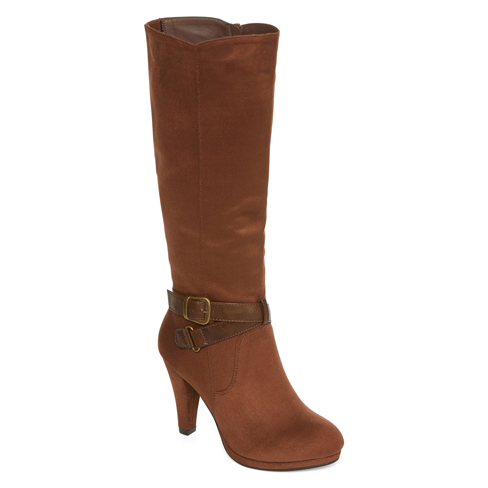 2 Lips Too Maple Womens Strappy Boots - Wide Calf
