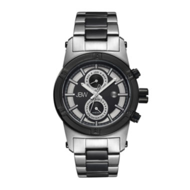 jcpenney.com | JBW Strider Mens Diamond-Accent Stainless Steel Watch J6263G