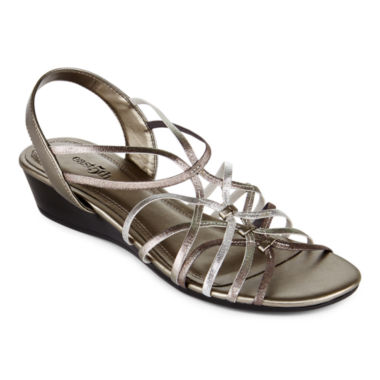 jcpenney.com | east 5th® Royal Slingback Wedge Sandals