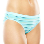 Ambrielle® Natural Comfort Tailored Bikini Panties