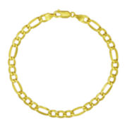 "Majestique™18K Yellow Gold 8½"" Figaro Bracelet"