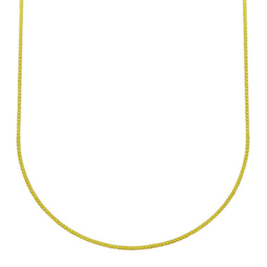 jcpenney.com | Majestique™ 18K Yellow Gold Box Chain Necklace