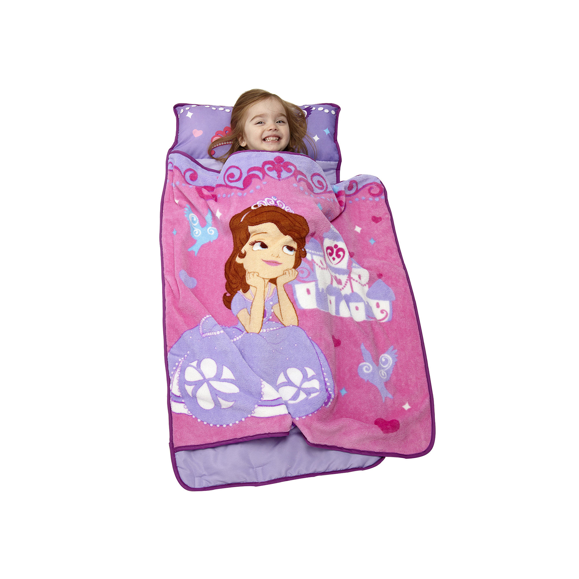 085214090733 Upc Disney Toddler Rolled Nap Mat Princess