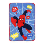 Spider-Man Talking Blanket