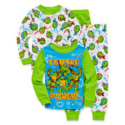 Teenage Mutant Ninja Turtles 4-pc. Cotton Pajama Set - Toddler Boys 2t-4t