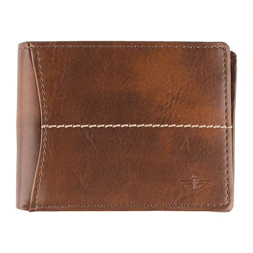 Dockers® Extra-Capacity Passcase Slimfold Wallet