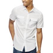 Ecko Unltd.® Holding Steady Short-Sleeve Woven Shirt