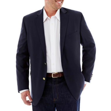 jcpenney.com | Stafford® Executive Hopsack Blazer–Extra Tall