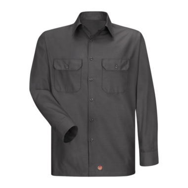 jcpenney.com | Red Kap® Long-Sleeve Solid Ripstop Shirt - Big & Tall