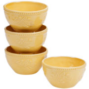 Certified International Bianca Set of 4 Ice Cream Bowls