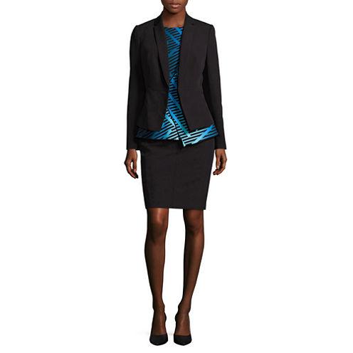 Worthington® Seam-Detail Collarless Blazer - Tall