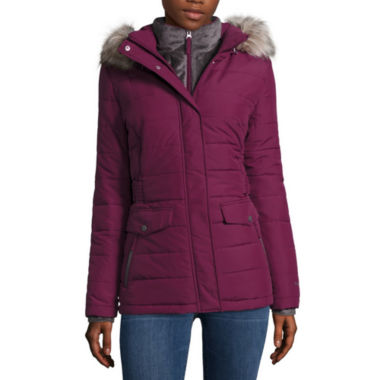 jcpenney.com | Free Country® Side-Tab Short Puffer Jacket