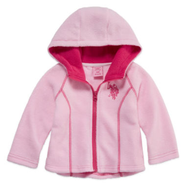 jcpenney.com | Us Polo Assn. Girls Midweight Fleece Jacket-Baby