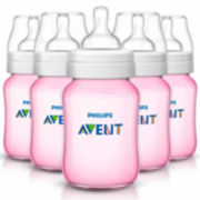 Philips Avent Classic  9 Ounce Baby Bottle - Set of 5