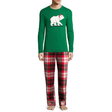 jcpenney.com | North Pole Trading Co. Knit Sleep Shirt Or Flannel Pajama Pants