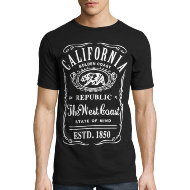 jcpenney.com | Short-Sleeve California Label Tee