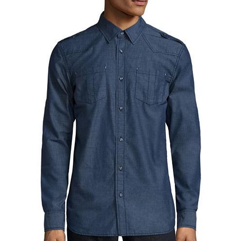 i jeans by Buffalo Maeed Long-Sleeve Woven Shirt
