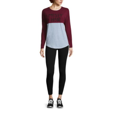 jcpenney.com | Colorblock Tee or High Rise Leggings - Juniors