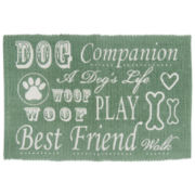 P. B. Paws by Park B. Smith® Dog Companion Cotton Pet Mat