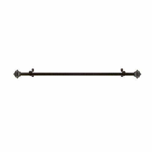 "Buono II ¾"" Adjustable Curtain Rod with Jordan Finial"