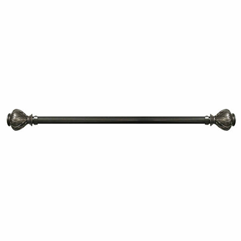 Majestic 1¼in Adjustable Curtain Rod with Summit Finial