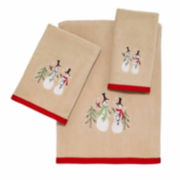 Avanti Tall Snowman Bath Towel Collection