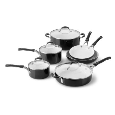 jcpenney.com | Cooking with Calphalon 10-pc. Ceramic Cookware Set