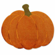 Homewear® Set of 4 Sequin Pumpkin Placemats