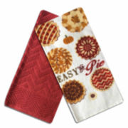 Homewear® Easy As Pie Set of 2 Kitchen Towels