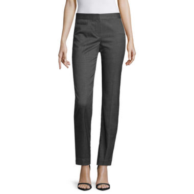 jcpenney.com | Worthington® Blocked Suit Ankle Pants - Tall