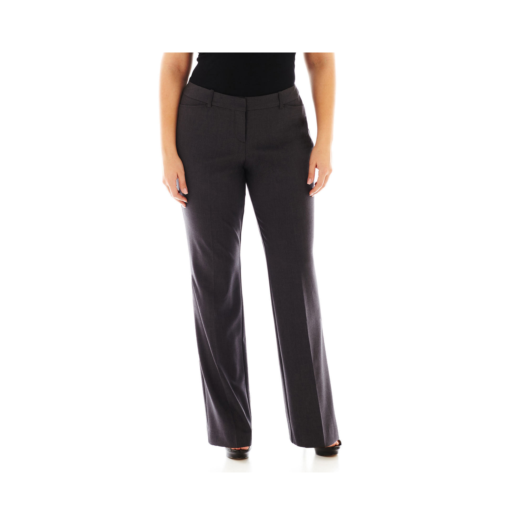 "Worthington Modern Fit Trouser Pants (32""/30"" Short) - Plus plus size,  plus size fashion plus size appare"