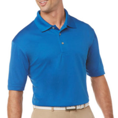 jcpenney.com | PGA TOUR® Short Sleeve Airflux Solid Polo- Big & Tall