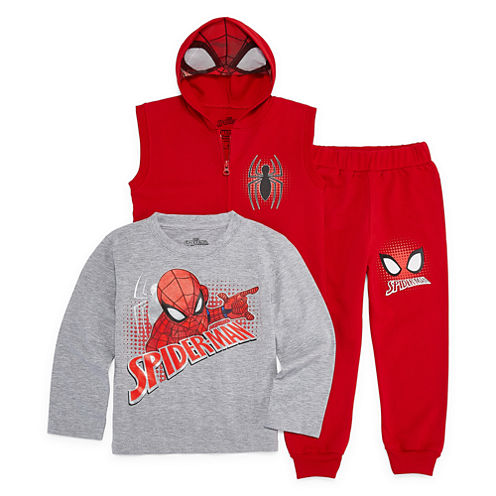 Spiderman Hoodie-Toddler Boys