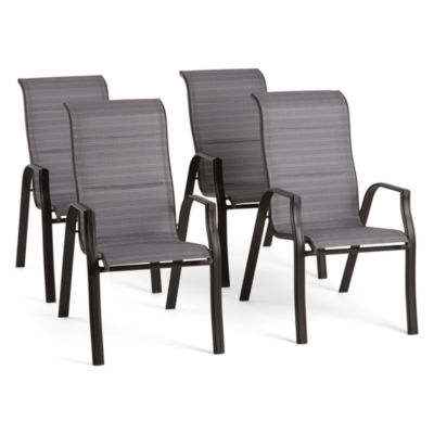 Outdoor Oasis Melbourne 4 Pc Stackable Patio Dining Chair Jcpenney