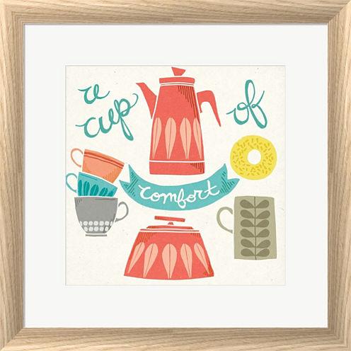 A Cup Of Comfort Framed Print Wall Art