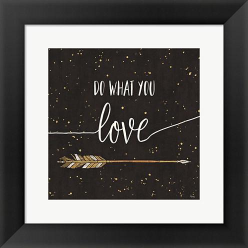 Follow Your Dreams I Framed Print Wall Art