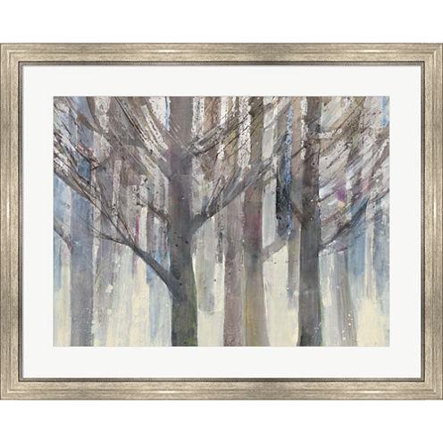 Forest Light Framed Print Wall Art