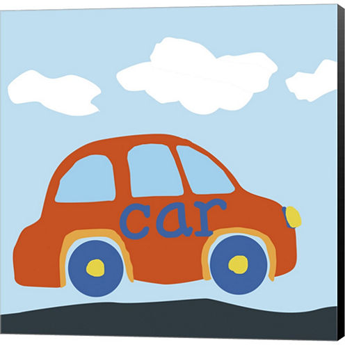 Car Baba Gallery Wrapped Canvas Wall Art On Deep Stretch Bars