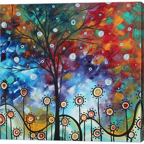 Field Of Joy Gallery Wrapped Canvas Wall Art On Deep Stretch Bars